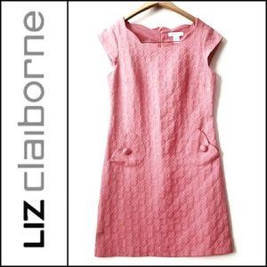 LIZ CLAIBORNE Sleeveless Scalloped Dress!